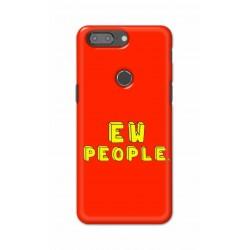 Crafting Crow Mobile Back Cover For One Plus 5t - EW People