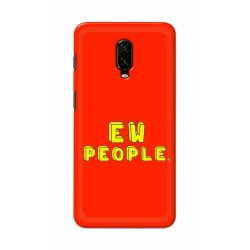 Crafting Crow Mobile Back Cover For One Plus 6t - EW People