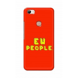 Crafting Crow Mobile Back Cover For Vivo Y83 - EW People