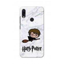 Crafting Crow Mobile Back Cover For Xiaomi Redmi Note 7 - Harry Potter