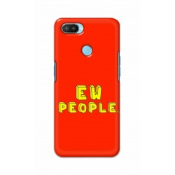Crafting Crow Mobile Back Cover For Oppo Realme 2 Pro - EW People