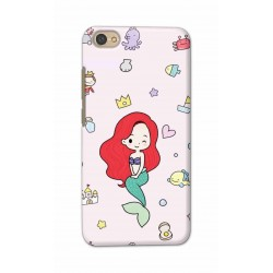 Crafting Crow Mobile Back Cover For Xiaomi Redmi Y1 Lite - Mermaid