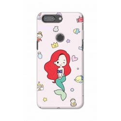 Crafting Crow Mobile Back Cover For One Plus 5t - Mermaid