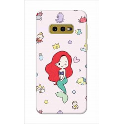 Crafting Crow Mobile Back Cover For Samsung Galaxy S10e - Mermaid