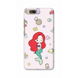 Crafting Crow Mobile Back Cover For Xiaomi Mi A1 - Mermaid