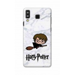 Crafting Crow Mobile Back Cover For Samsung Galaxy A8 Star - Harry Potter