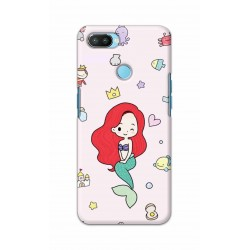 Crafting Crow Mobile Back Cover For Oppo Realme 2 Pro - Mermaid