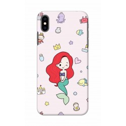 Crafting Crow Mobile Back Cover For Apple Iphone XS - Mermaid