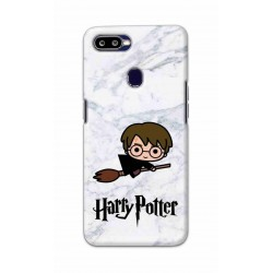 Crafting Crow Mobile Back Cover For Oppo F9 - Harry Potter