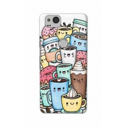 Crafting Crow Mobile Back Cover For Google Pixel 2 - Kawaii Coffee