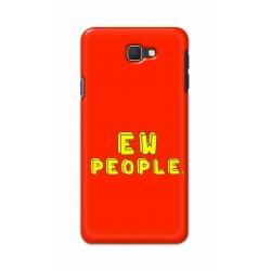 Crafting Crow Mobile Back Cover For Samsung Galaxy J7 Prime - EW People