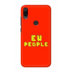 Crafting Crow Mobile Back Cover For Xiaomi Mi Play - EW People