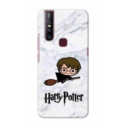 Crafting Crow Mobile Back Cover For Vivo V15 - Harry Potter