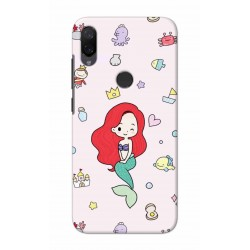 Crafting Crow Mobile Back Cover For Xiaomi Mi Play - Mermaid