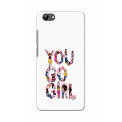 Crafting Crow Mobile Back Cover For Vivo Y71 - You Go Girl
