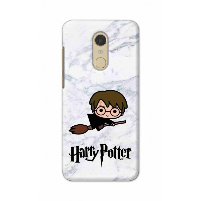 Crafting Crow Mobile Back Cover For Xiaomi Redmi Note 5 - Harry Potter