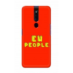 Crafting Crow Mobile Back Cover For Oppo F11 Pro - EW People
