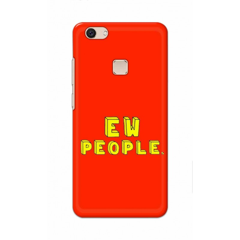 Crafting Crow Mobile Back Cover For Vivo V7 Plus - EW People