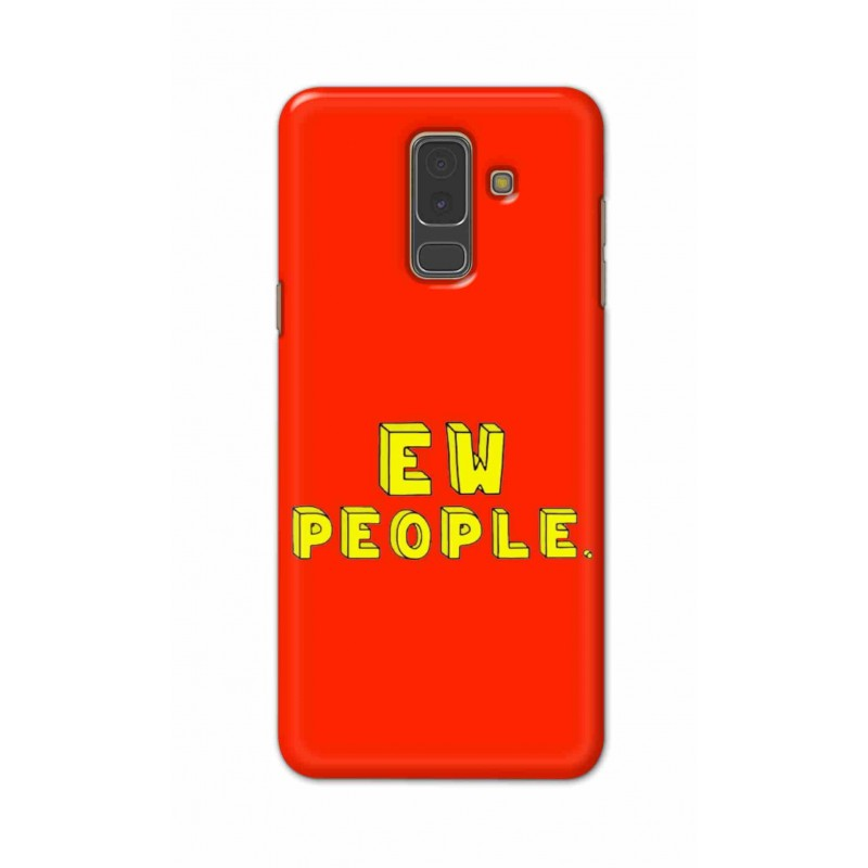 Crafting Crow Mobile Back Cover For Samsung A6 Plus - EW People