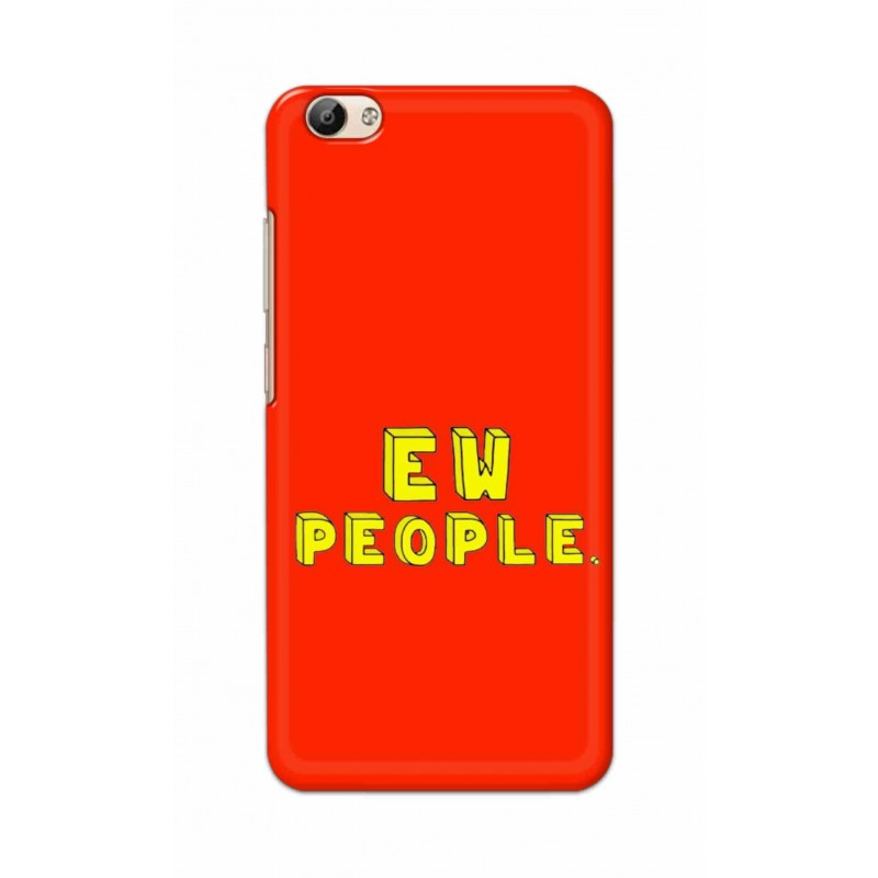 Crafting Crow Mobile Back Cover For Vivo Y66 - EW People