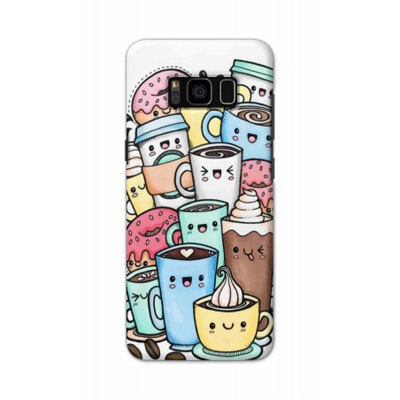 Samsung S8 Plus - Kawaii Coffee