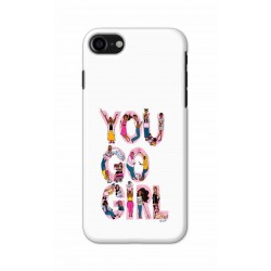 Crafting Crow Mobile Back Cover For Apple Iphone 8 - You Go Girl