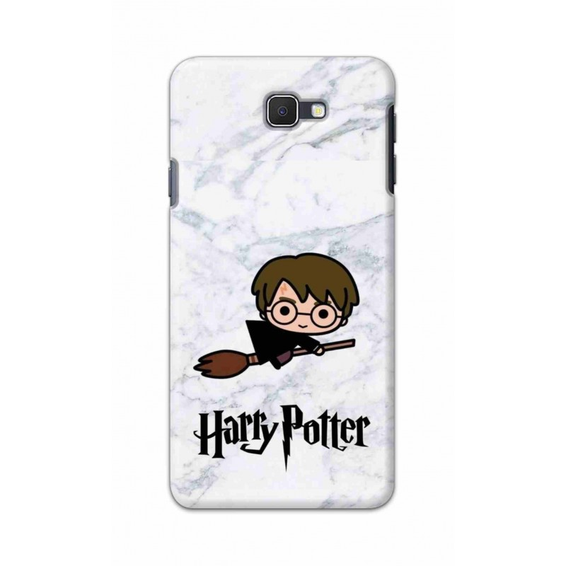 Crafting Crow Mobile Back Cover For Samsung Galaxy J7 Prime - Harry Potter