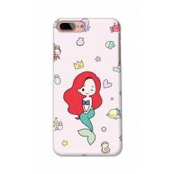 Crafting Crow Mobile Back Cover For Apple Iphone 7 Plus - Mermaid