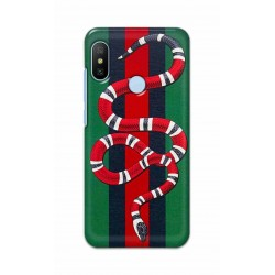 Crafting Crow Mobile Back Cover For Xiaomi Mi A2 - Snake