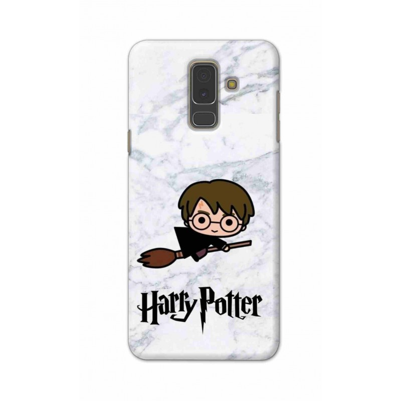 Crafting Crow Mobile Back Cover For Samsung A6 Plus - Harry Potter