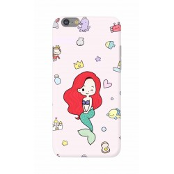 Crafting Crow Mobile Back Cover For Apple Iphone 6 - Mermaid