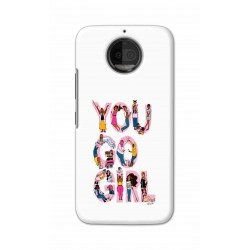 Crafting Crow Mobile Back Cover For Motorola Moto G5S Plus - You Go Girl