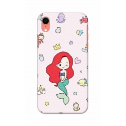 Crafting Crow Mobile Back Cover For Apple Iphone XR - Mermaid