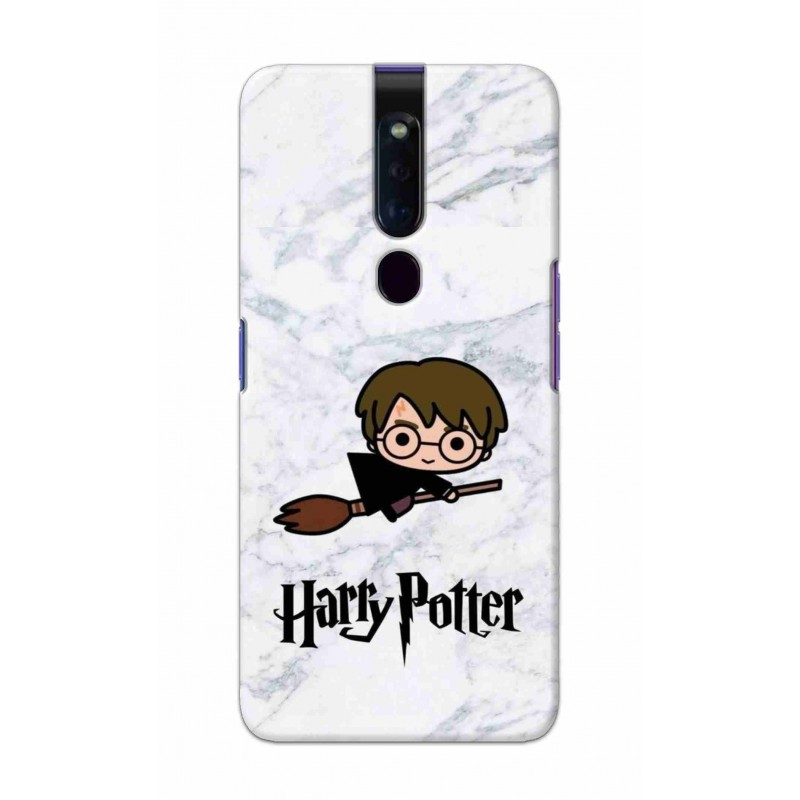 Crafting Crow Mobile Back Cover For Oppo F11 Pro - Harry Potter