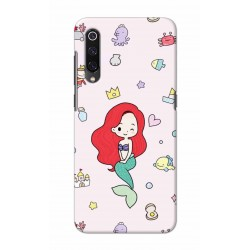 Crafting Crow Mobile Back Cover For Xiaomi Mi 9 - Mermaid