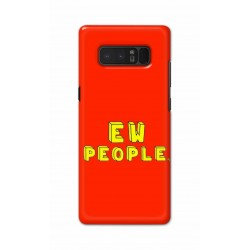 Crafting Crow Mobile Back Cover For Samsung Note 8 - EW People