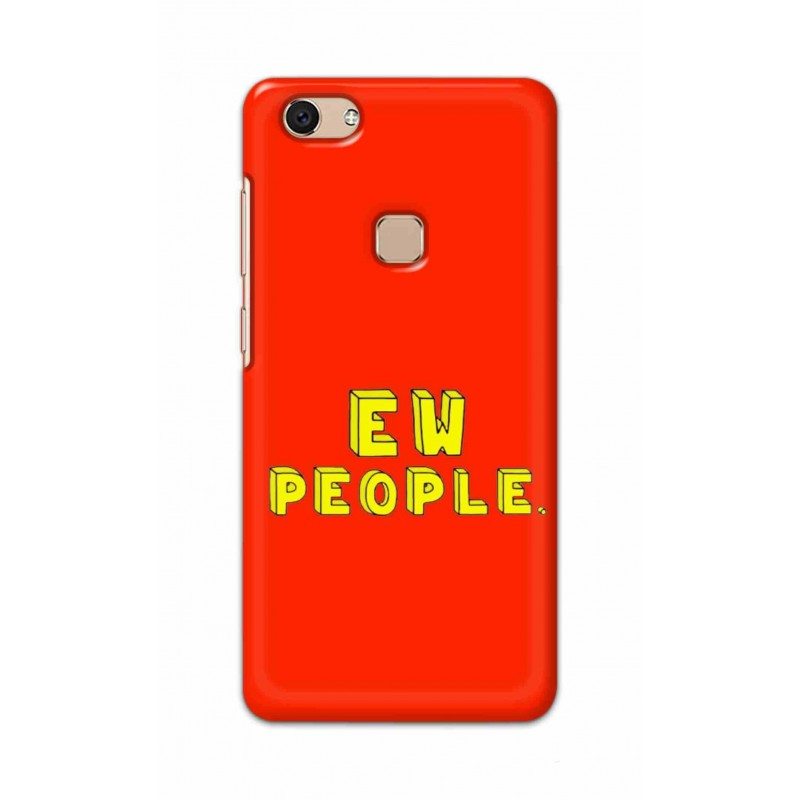 Crafting Crow Mobile Back Cover For Vivo V7 - EW People