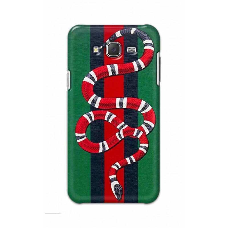 Crafting Crow Mobile Back Cover For Samsung Galaxy J7 - Snake
