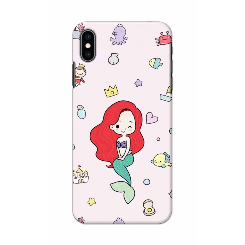 Crafting Crow Mobile Back Cover For Apple Iphone XS Max - Mermaid