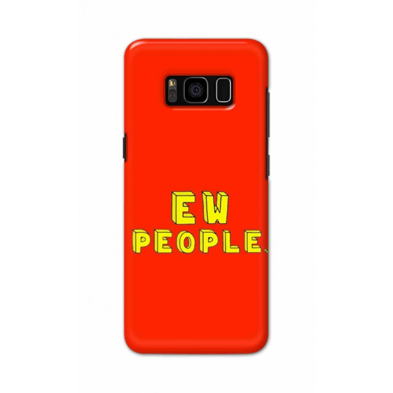Crafting Crow Mobile Back Cover For Samsung S8 Plus - EW People