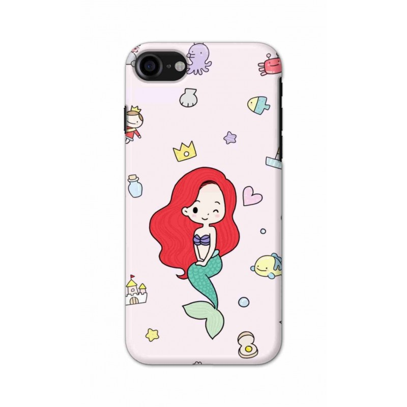 Crafting Crow Mobile Back Cover For Apple Iphone 7 - Mermaid