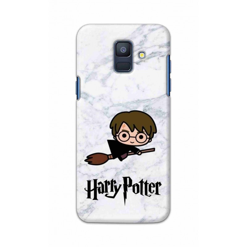 Crafting Crow Mobile Back Cover For Samsung Galaxy A6 2018 - Harry Potter