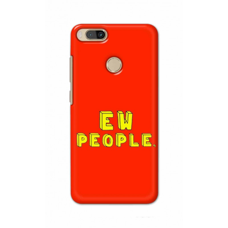 Crafting Crow Mobile Back Cover For Xiaomi Mi A1 - EW People