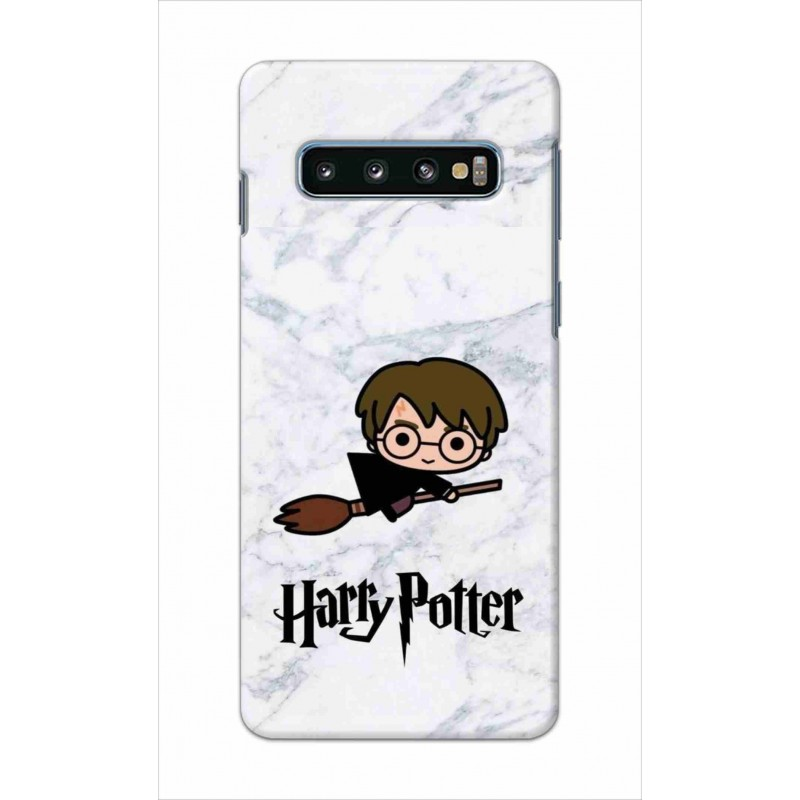 Crafting Crow Mobile Back Cover For Samsung Galaxy S10 - Harry Potter