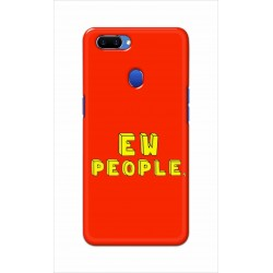 Crafting Crow Mobile Back Cover For Oppo A5 - EW People