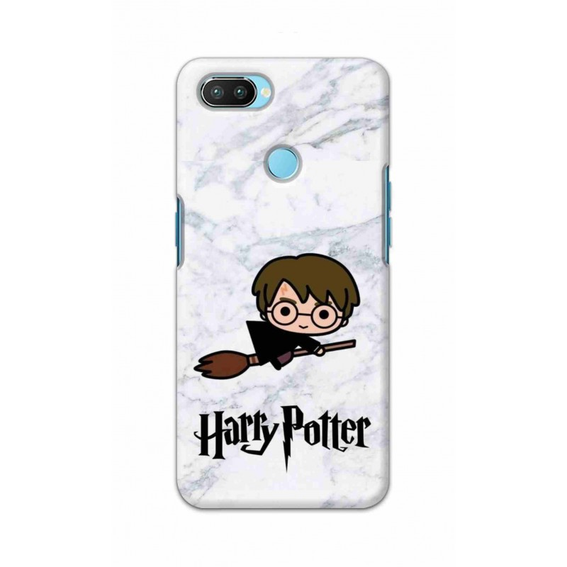 Crafting Crow Mobile Back Cover For Oppo Realme 2 Pro - Harry Potter