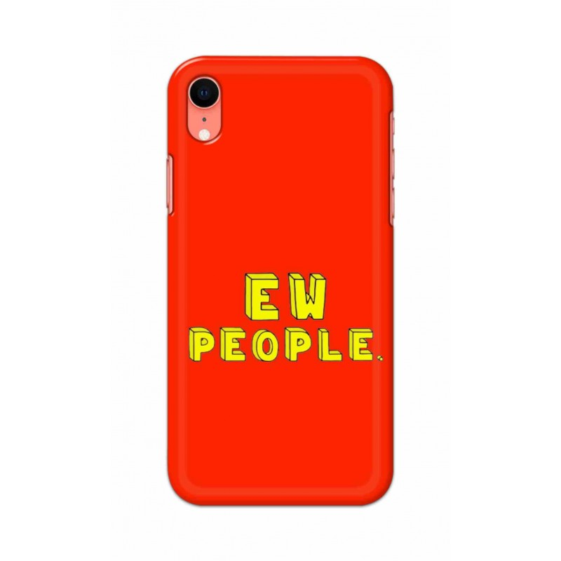 Crafting Crow Mobile Back Cover For Apple Iphone XR - EW People