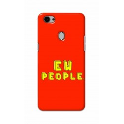 Crafting Crow Mobile Back Cover For Oppo F7 - EW People