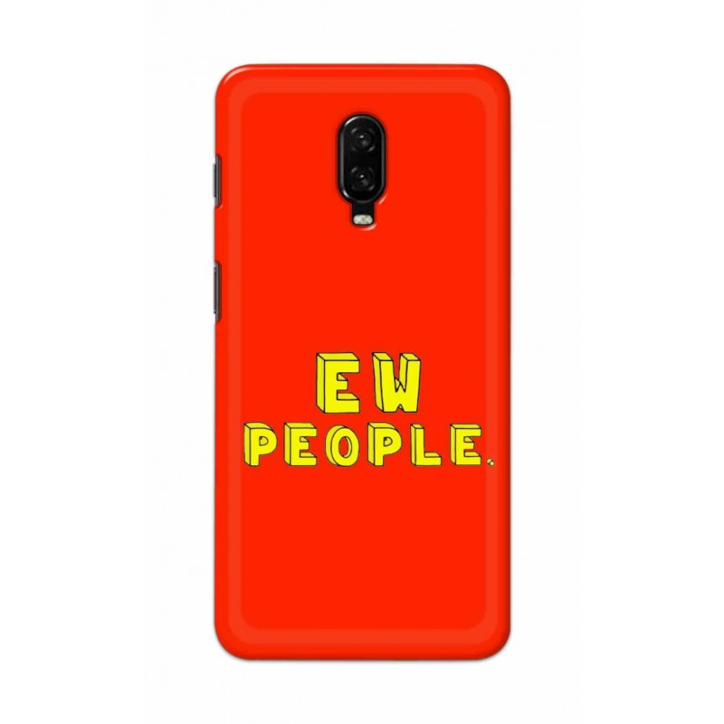 Crafting Crow Mobile Back Cover For One Plus 7 - EW People