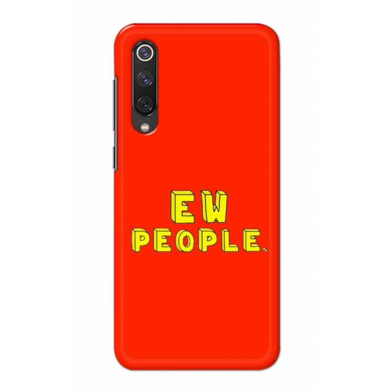 Crafting Crow Mobile Back Cover For Xiaomi Mi 9 SE - EW People